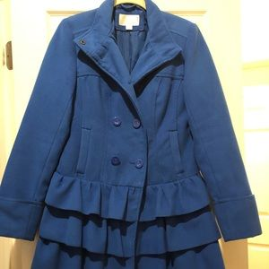 Royal blue cute coat!